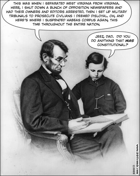 Lincoln's Scrapbook