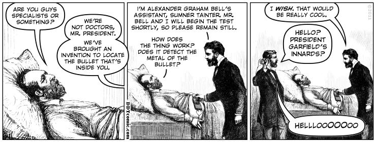 Garfield's Bullet