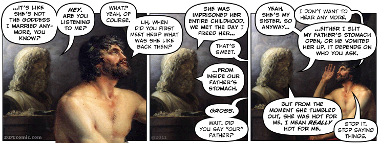 Zeus is Not the Best Spouse Chooser