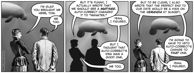 Auto-Corrected to the Aquarium