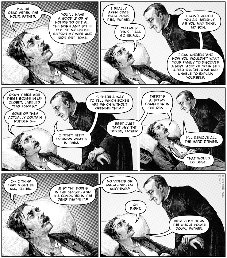 Posthumous Porn Purge