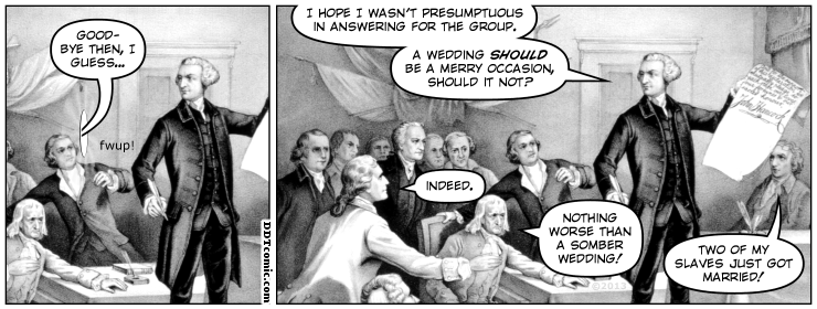 Ask the Founding Fathers, Epilogue