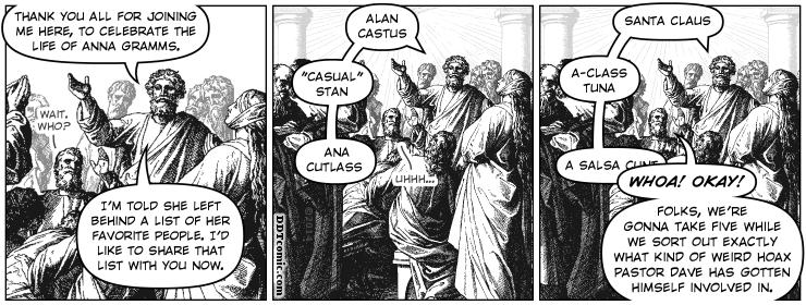Anna Gramms' Eulogy
