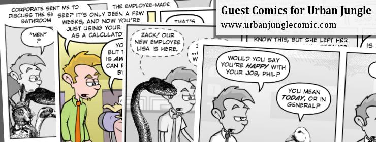 Urban Jungle Guest Comics