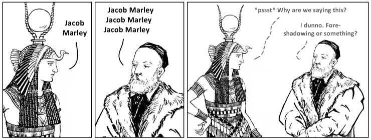 No Comic Jacob Marley