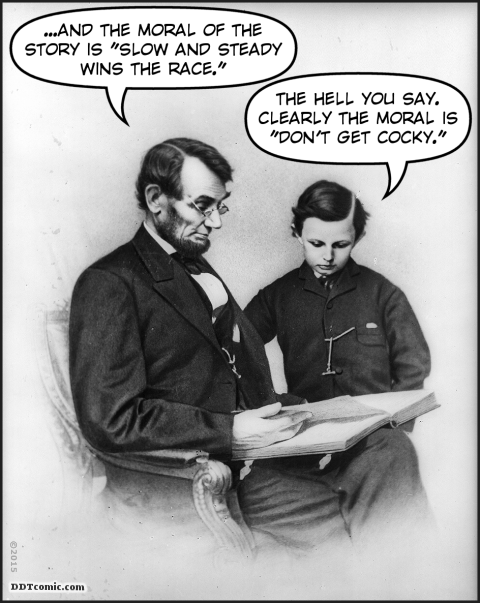 Tad Lincoln's Story Time